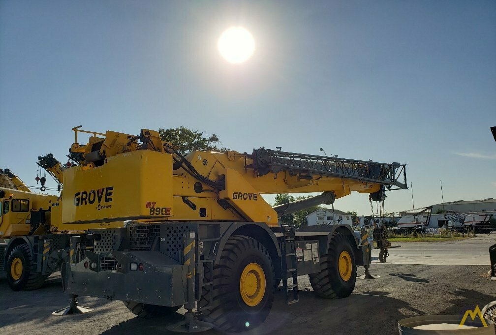 Grove RT890E 90-ton Rough Terrain Crane 5
