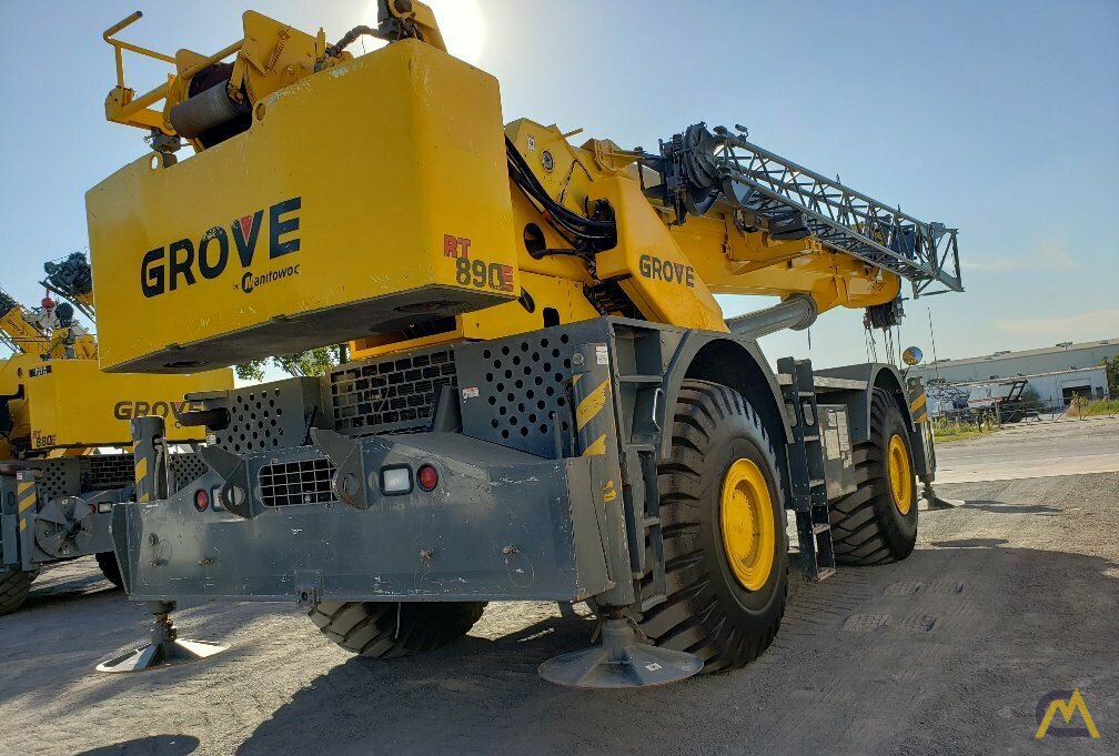 Grove RT890E 90-ton Rough Terrain Crane 6