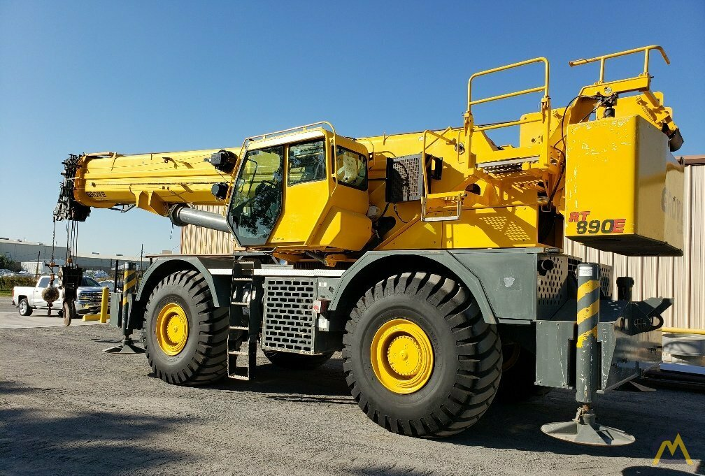 Grove RT890E 90-ton Rough Terrain Crane 8