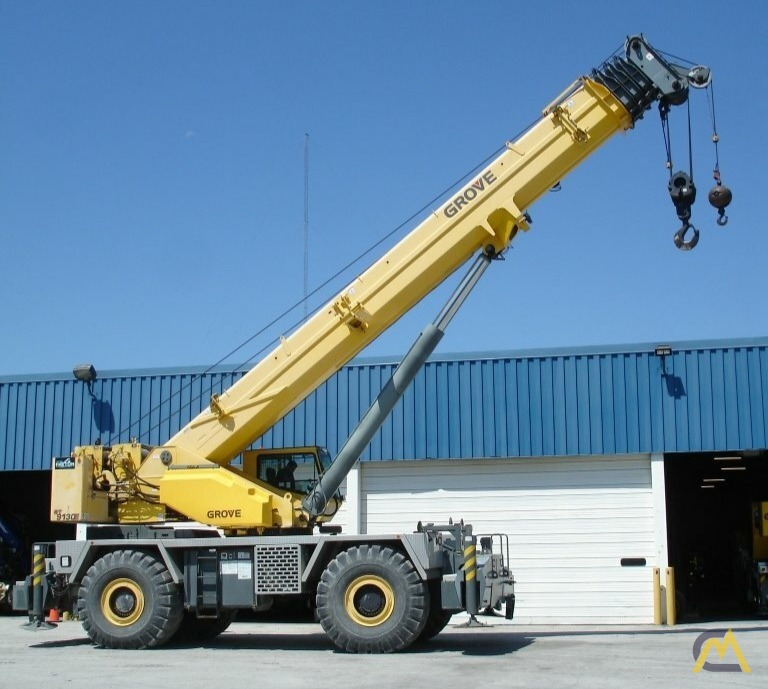 Grove RT9130E 130-ton Rough Terrain Crane 2