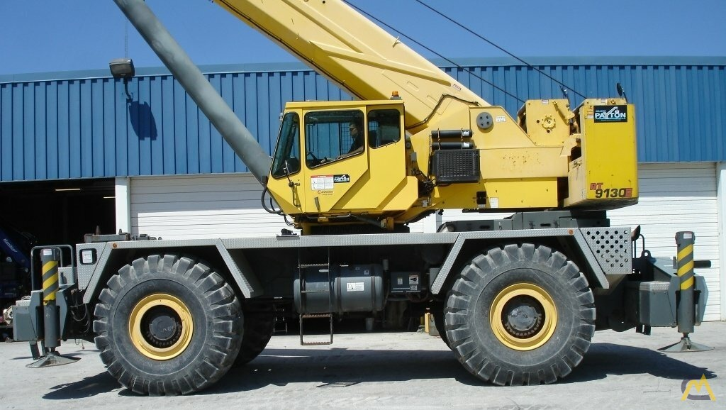 Grove RT9130E 130-ton Rough Terrain Crane 0