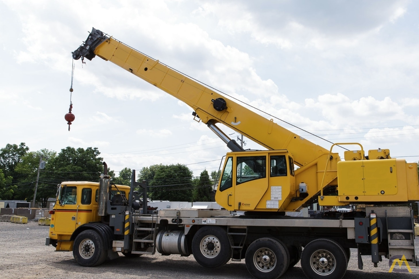 Grove TM500E-2 45-ton Telescopic Boom Truck Crane For Sale