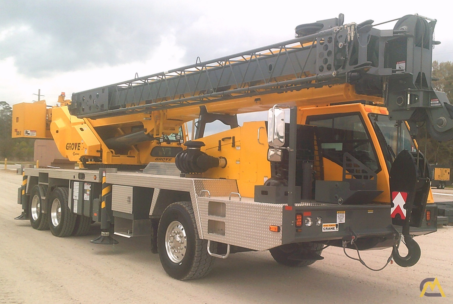 Grove TMS500-2 40-Ton Truck Mounted Crane 0