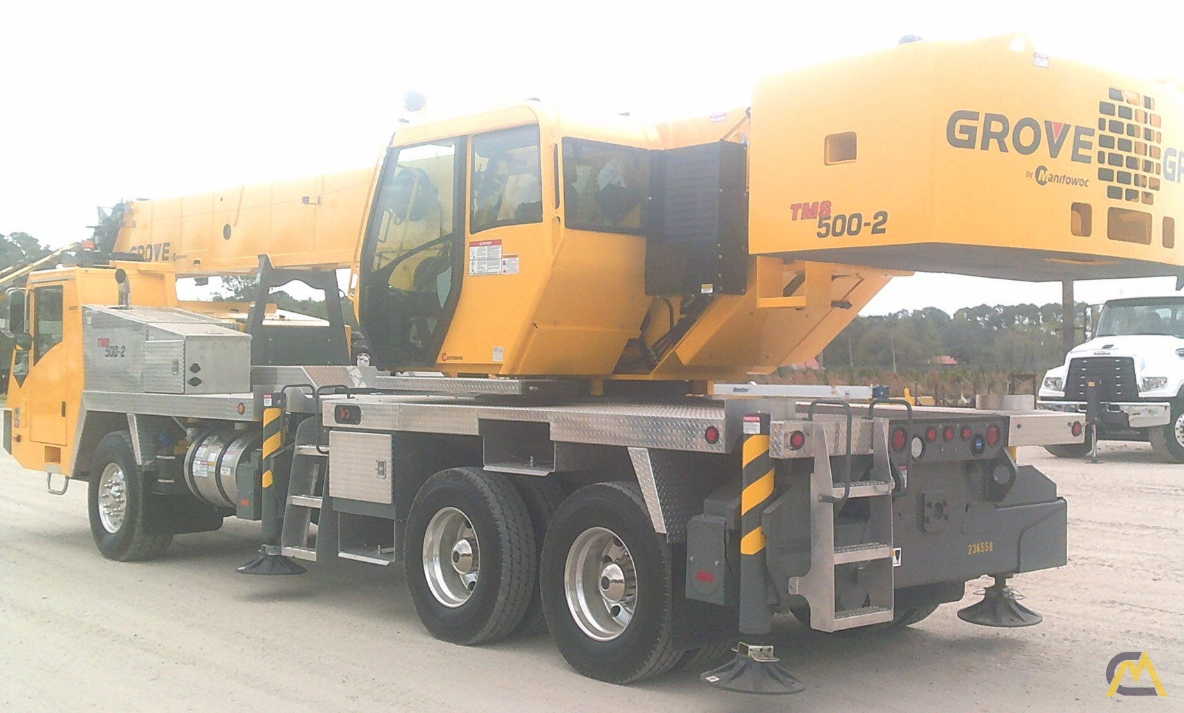 Grove TMS500-2 40-Ton Truck Mounted Crane 1