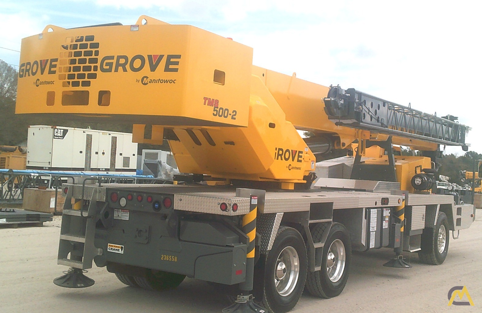 Grove TMS500-2 40-Ton Truck Mounted Crane 2