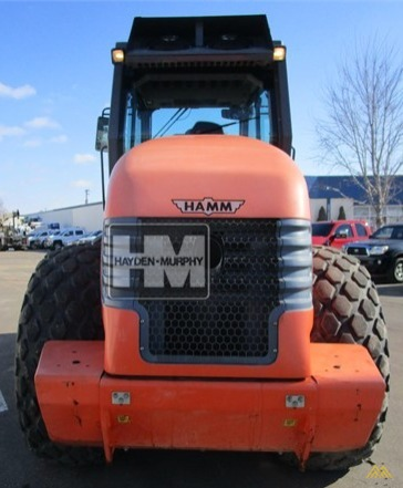Hamm 3412 Smooth Drum Compactor 2