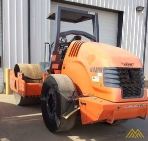 Hamm 3412A Smooth Drum Compactor 1