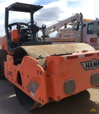 Hamm 3412A Smooth Drum Compactor 2