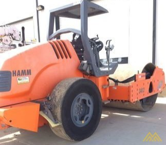 Hamm 3412A Smooth Drum Compactor 0