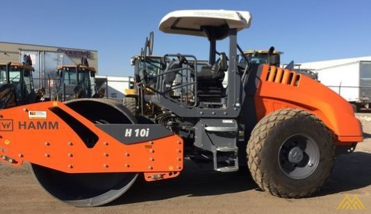 Hamm H10i Smooth Drum Compactor 0