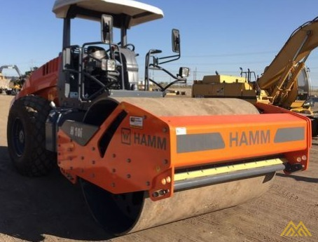 Hamm H10i Smooth Drum Compactor 1