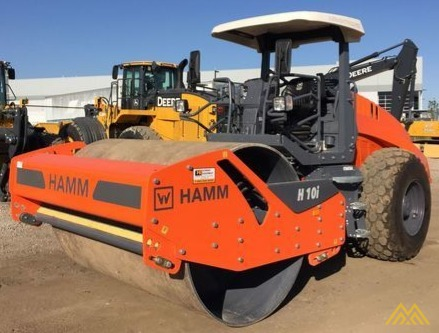 Hamm H10i Smooth Drum Compactor 3