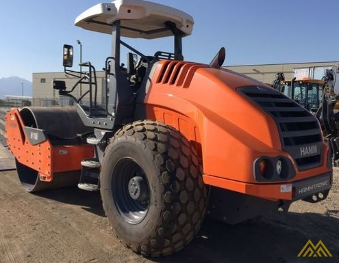 Hamm H10i Smooth Drum Compactor 2