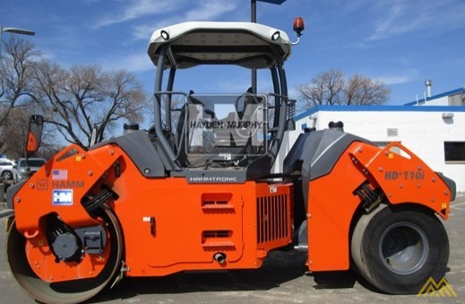 Hamm HD+ 110VT Compact Rollers 0