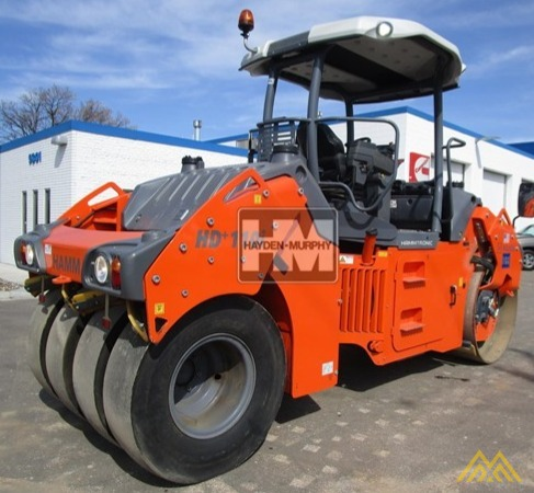 Hamm HD+ 110VT Compact Rollers 2