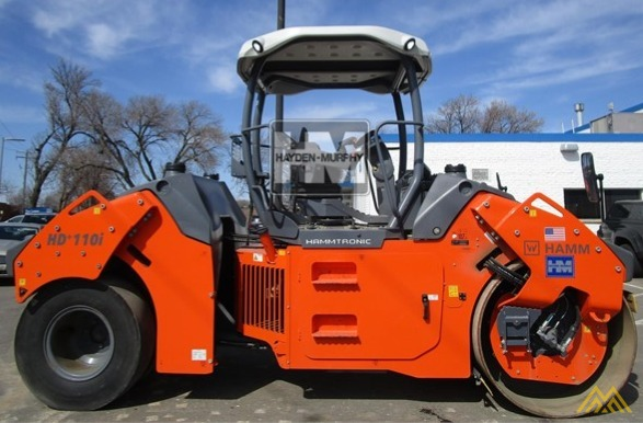 Hamm HD+ 110VT Compact Rollers 3