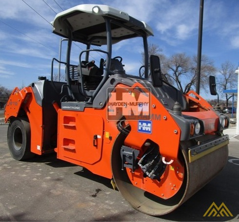 Hamm HD+ 110VT Compact Rollers 10