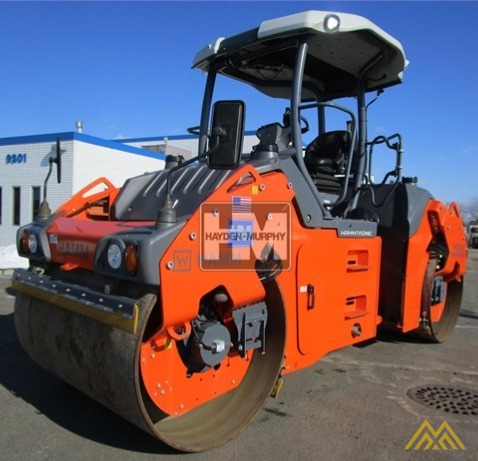 Hamm HD+110iVV HF Smooth Drum Compactor 2