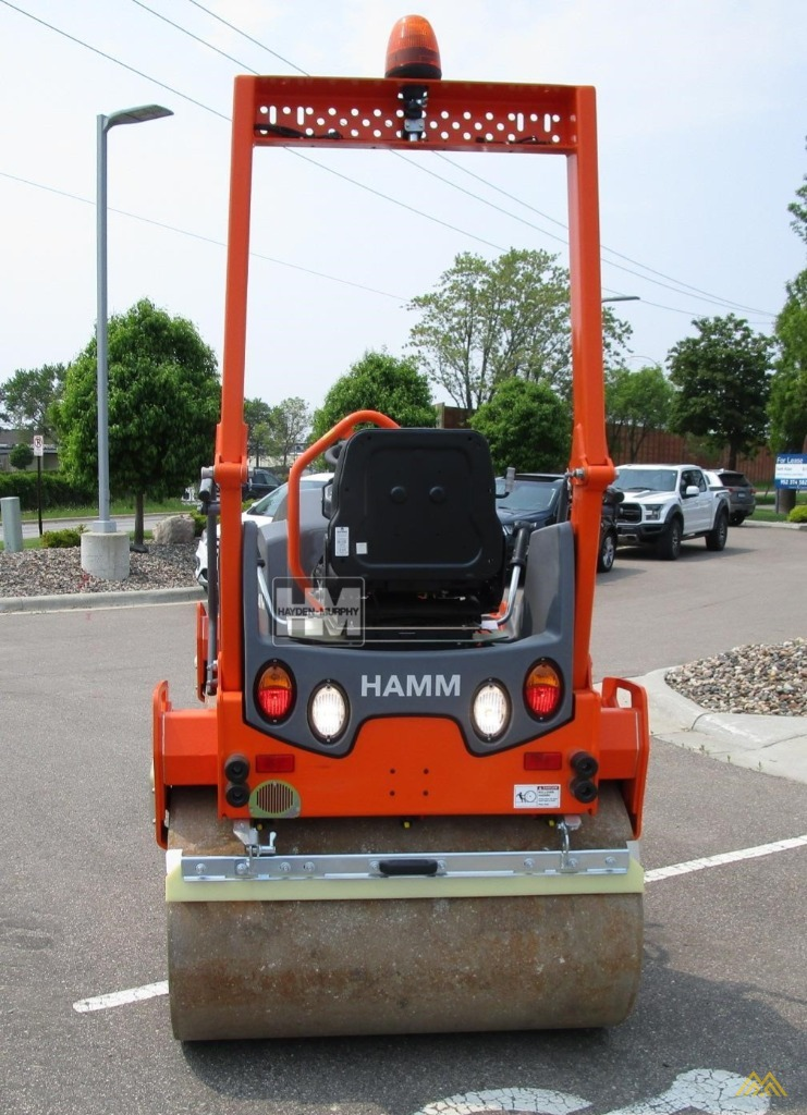 Hamm HD12VV Smooth Drum Compactor 2