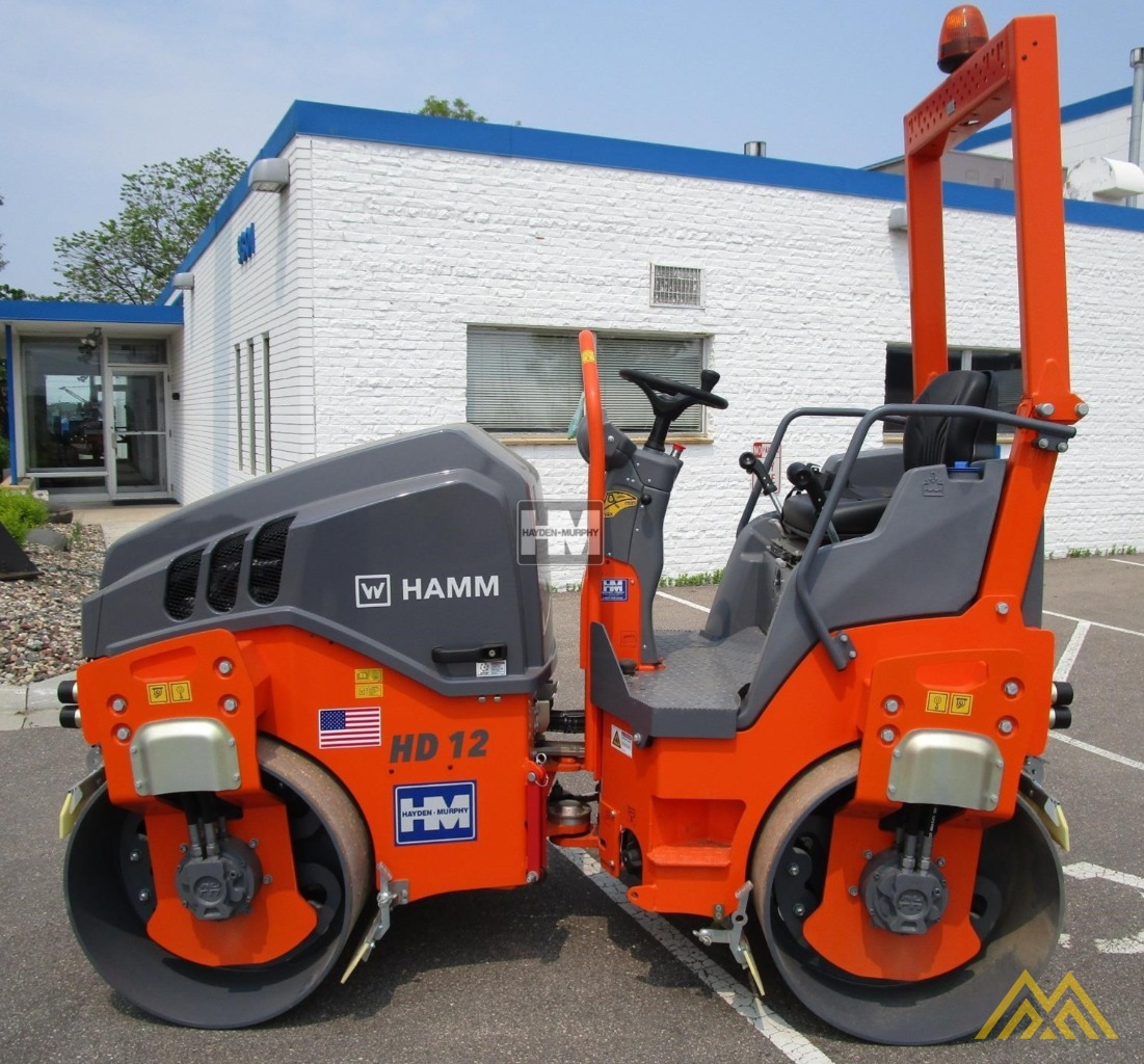 Hamm HD12VV Smooth Drum Compactor 6