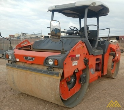 Hamm HD140+VO Double Drum Roller 3