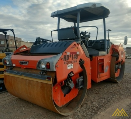 Hamm HD140+VO Double Drum Roller 2