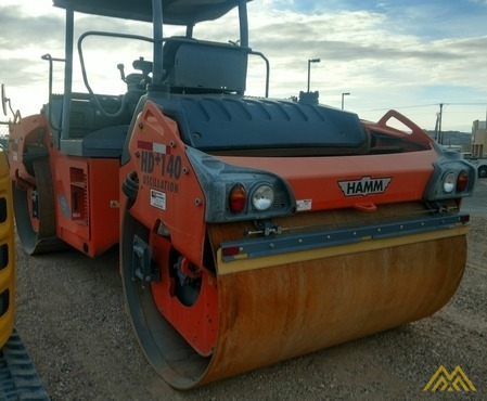 Hamm HD140+VO Double Drum Roller 1