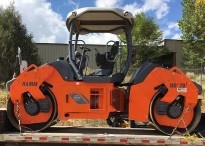 Hamm HD70iVVHF Articulated Tandem Roller 3