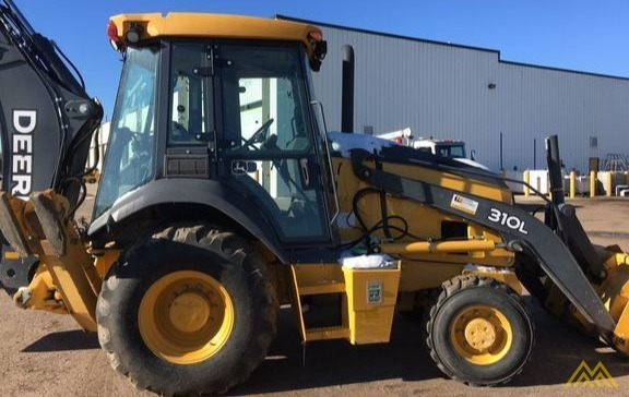 John Deere 310L Backhoe Loader 1