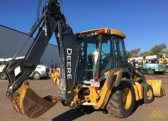 John Deere 310L Backhoe Loader 3