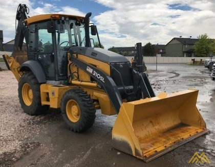 John Deere 310SL Backhoe Loader 2