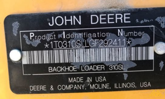 John Deere 310SL Backhoe Loader 5