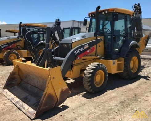 John Deere 310SL Backhoe Loader 0