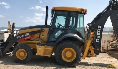 John Deere 310SL Backhoe Loader 1