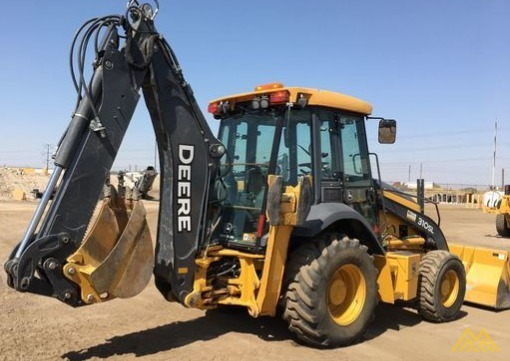 John Deere 310SL Backhoe Loader 6