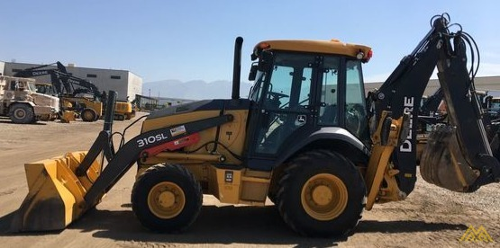 John Deere 310SL Backhoe Loader 4