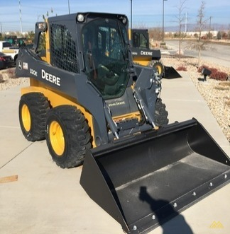 John Deere 320E Skid Steer Loader 0