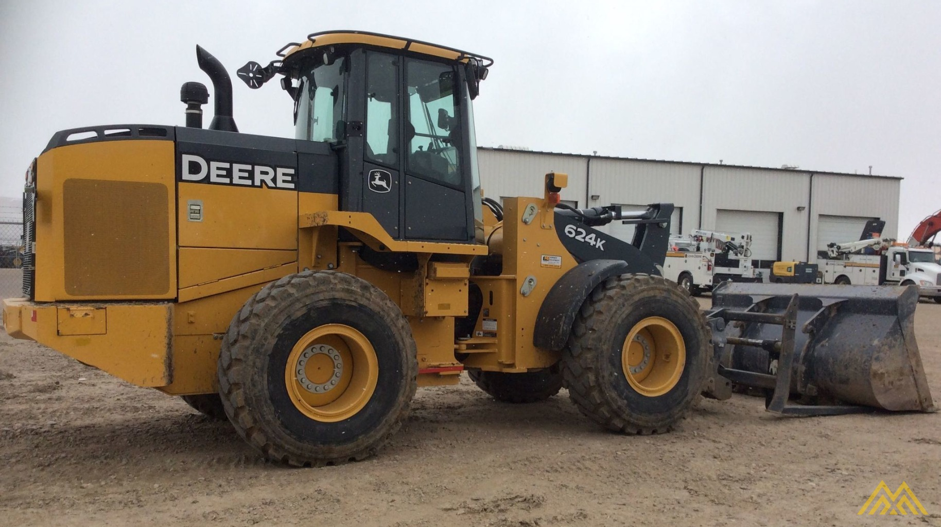 John Deere 624K Wheel Loader 4