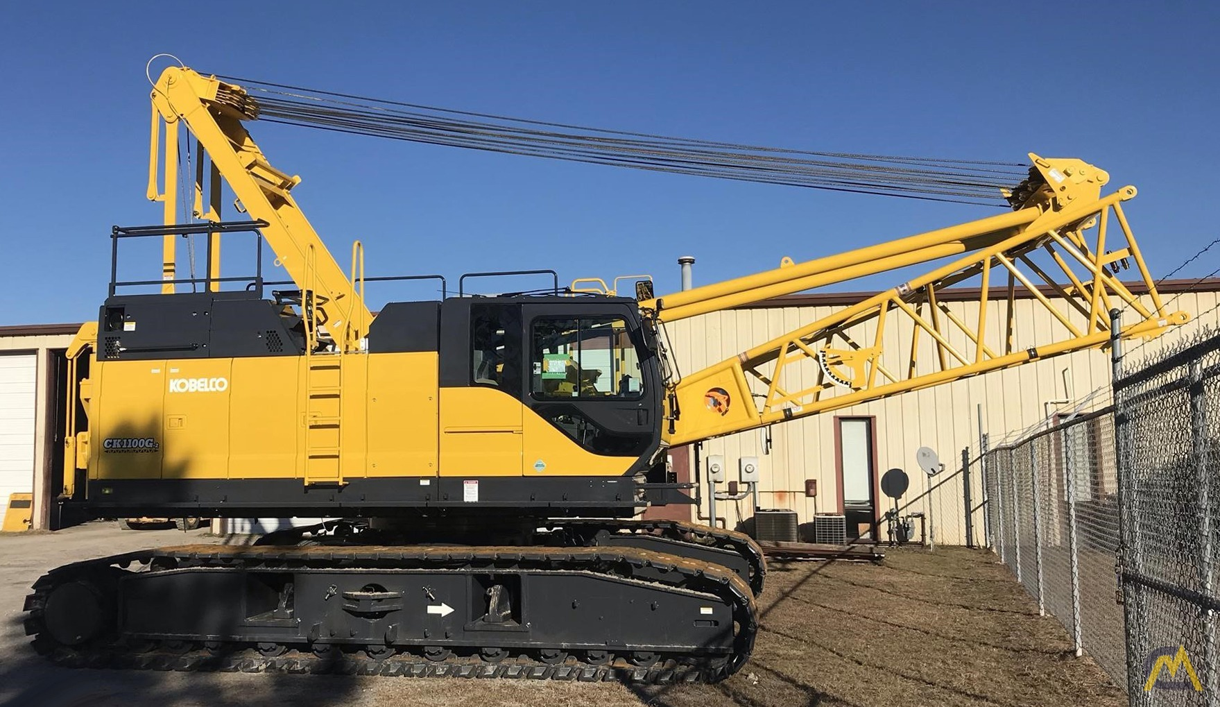Kobelco CK1100G 110-Ton Lattice Boom Crawler Crane  0