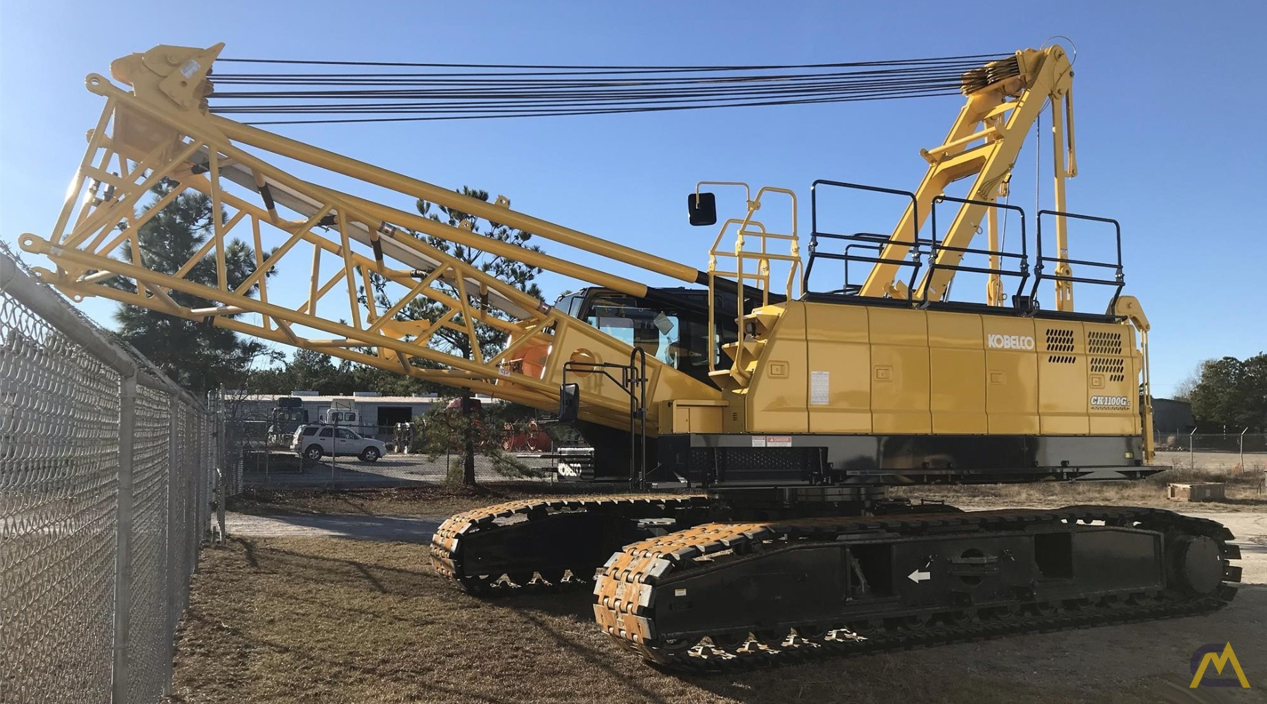 Kobelco CK1100G 110-Ton Lattice Boom Crawler Crane  1