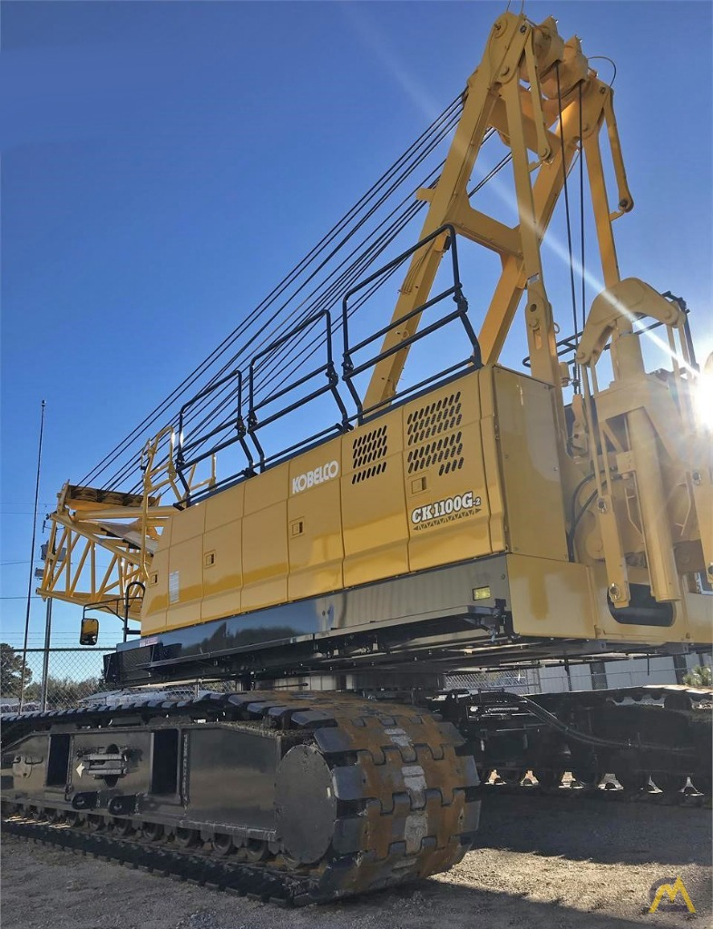 Kobelco CK1100G 110-Ton Lattice Boom Crawler Crane  2