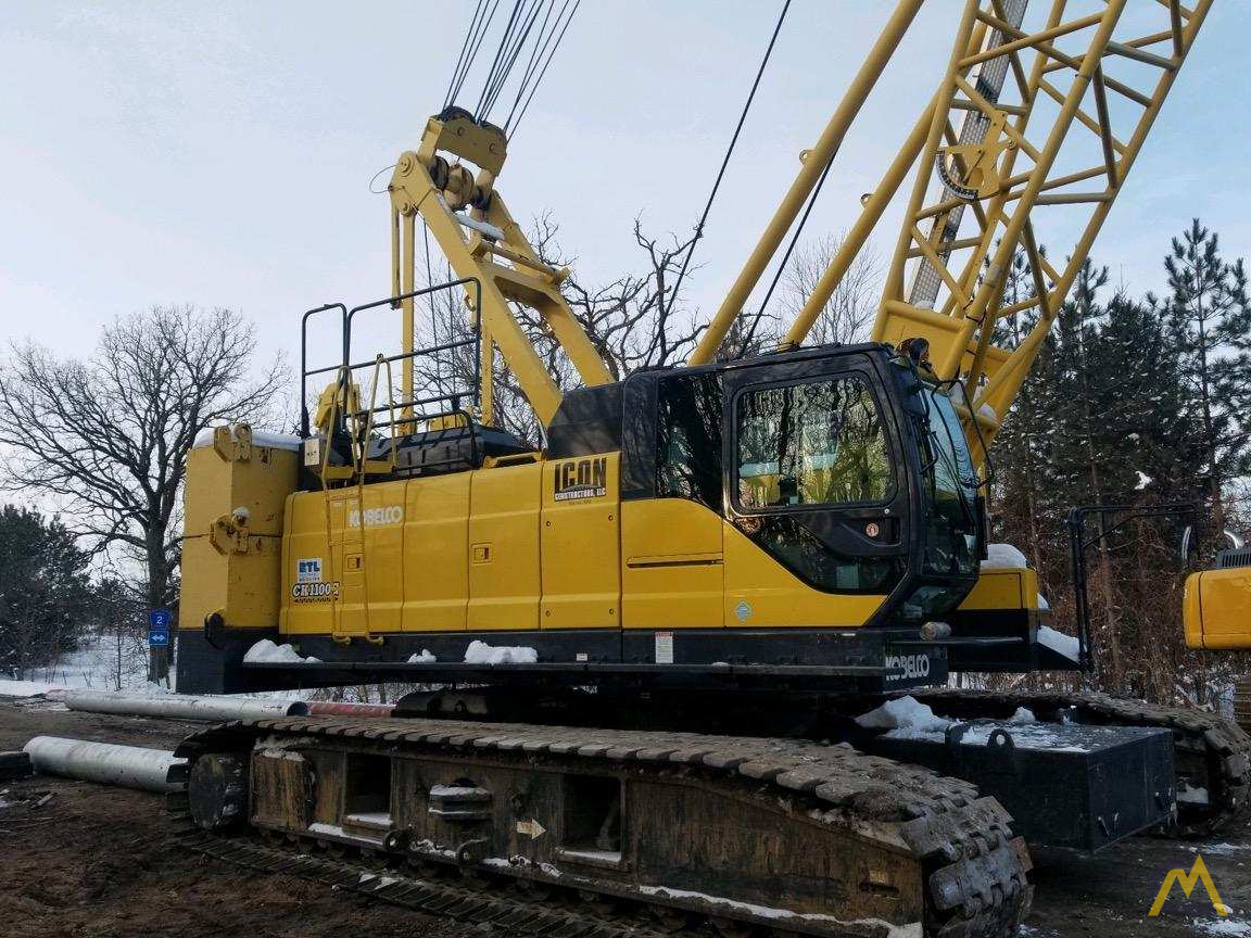 Kobelco CK1100G-2 110-Ton Lattice Boom Crawler Crane  2
