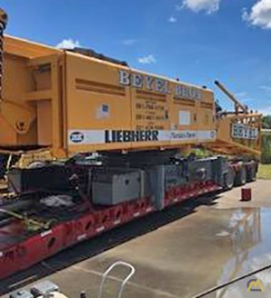 Liebherr LR 1160 160-Ton Lattice Boom Crawler Crane 3