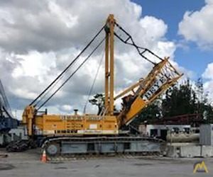 Liebherr LR 1160 160-Ton Lattice Boom Crawler Crane 1