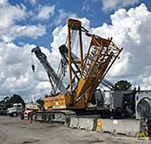 Liebherr LR 1160 160-Ton Lattice Boom Crawler Crane 2