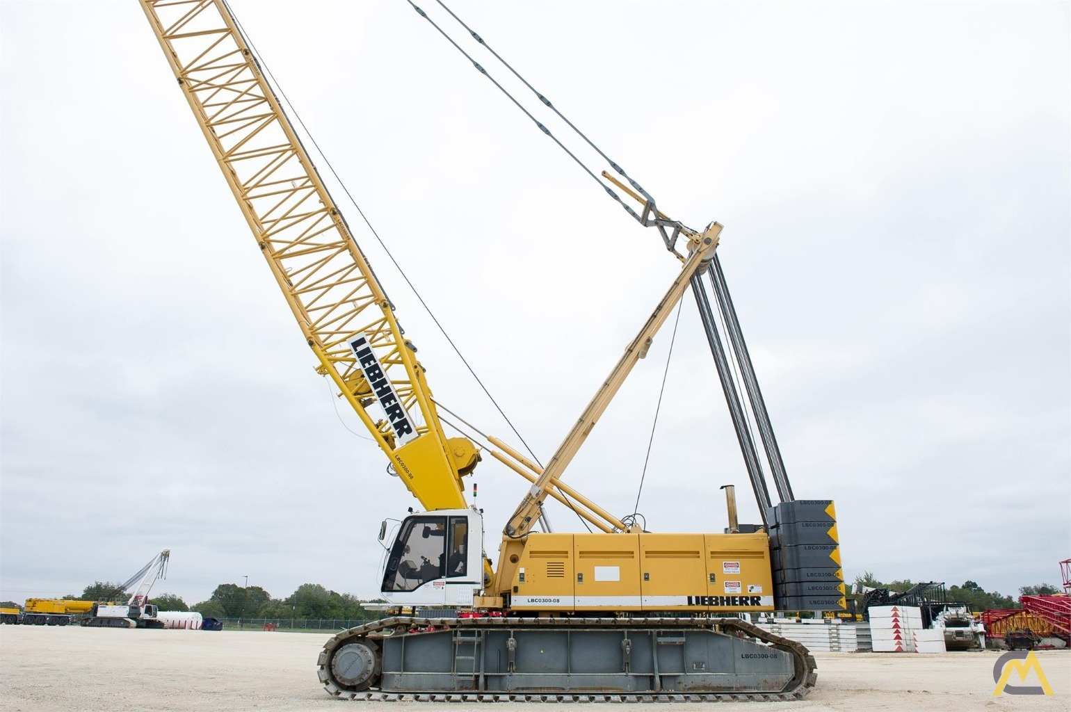 Liebherr LR 1280 300-Ton Lattice Boom Crawler Crane 1