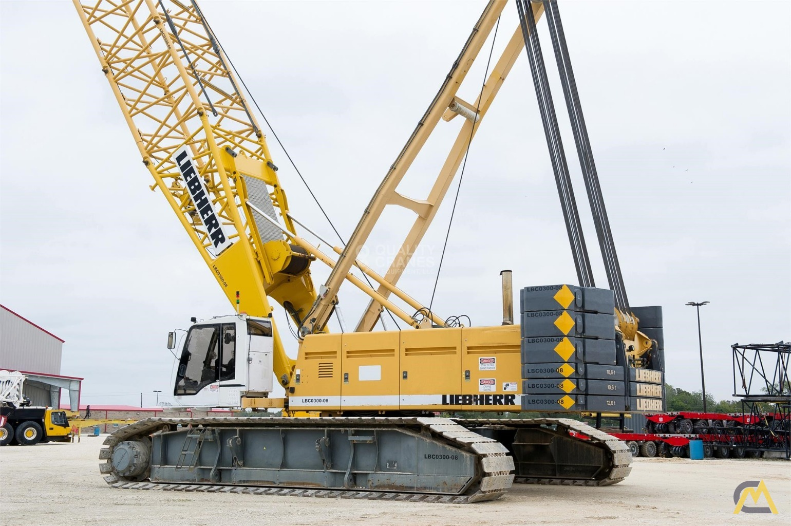 Liebherr LR 1280 300-Ton Lattice Boom Crawler Crane 2