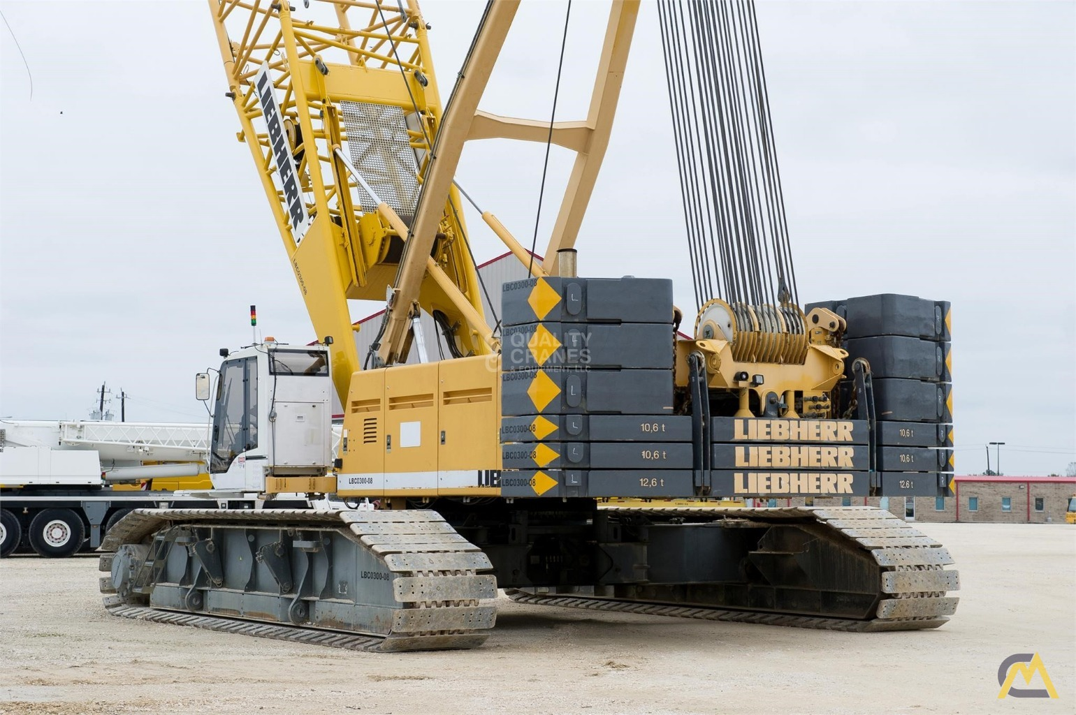 Liebherr LR 1280 300-Ton Lattice Boom Crawler Crane 12