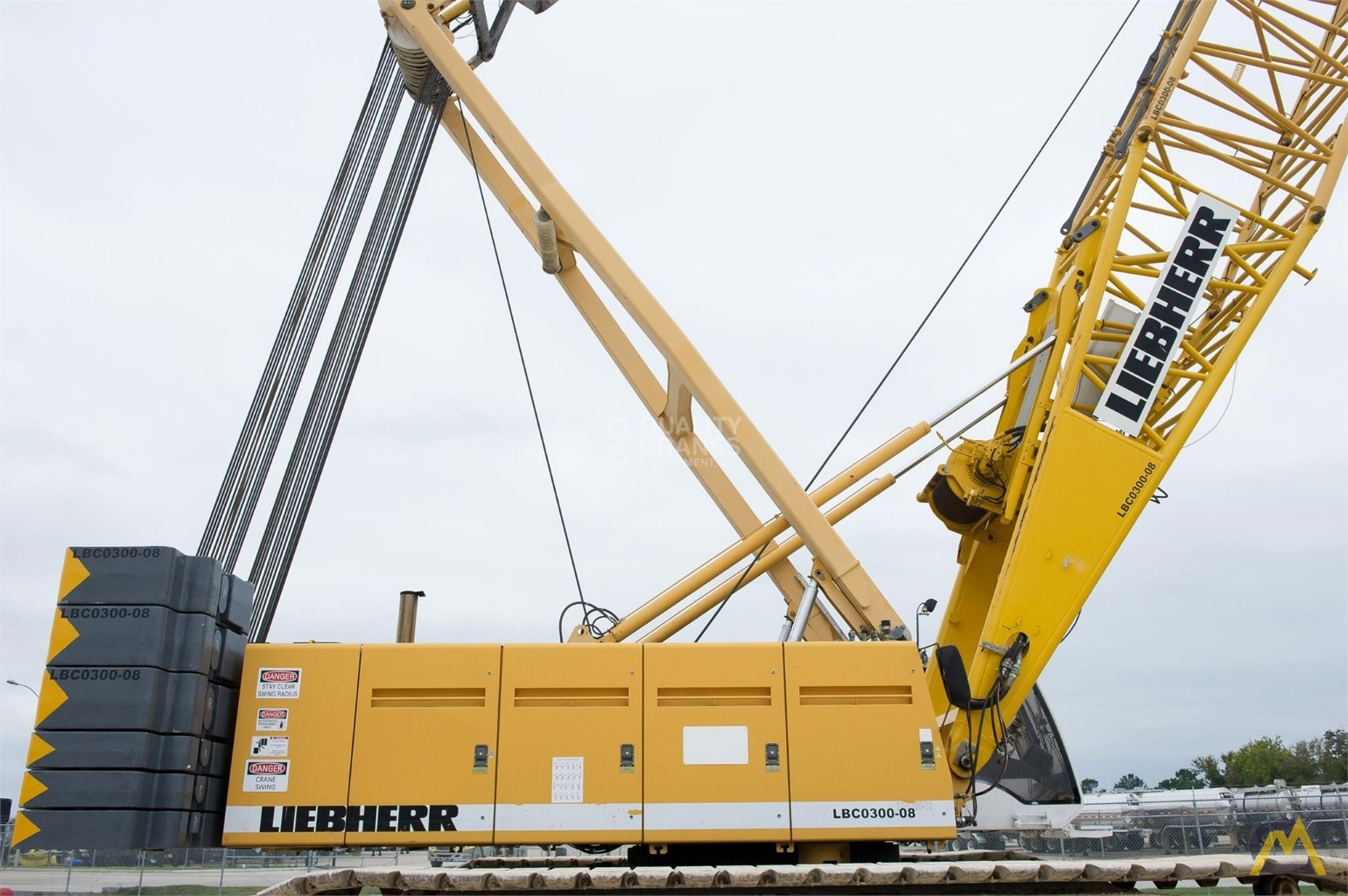 Liebherr LR 1280 300-Ton Lattice Boom Crawler Crane 14