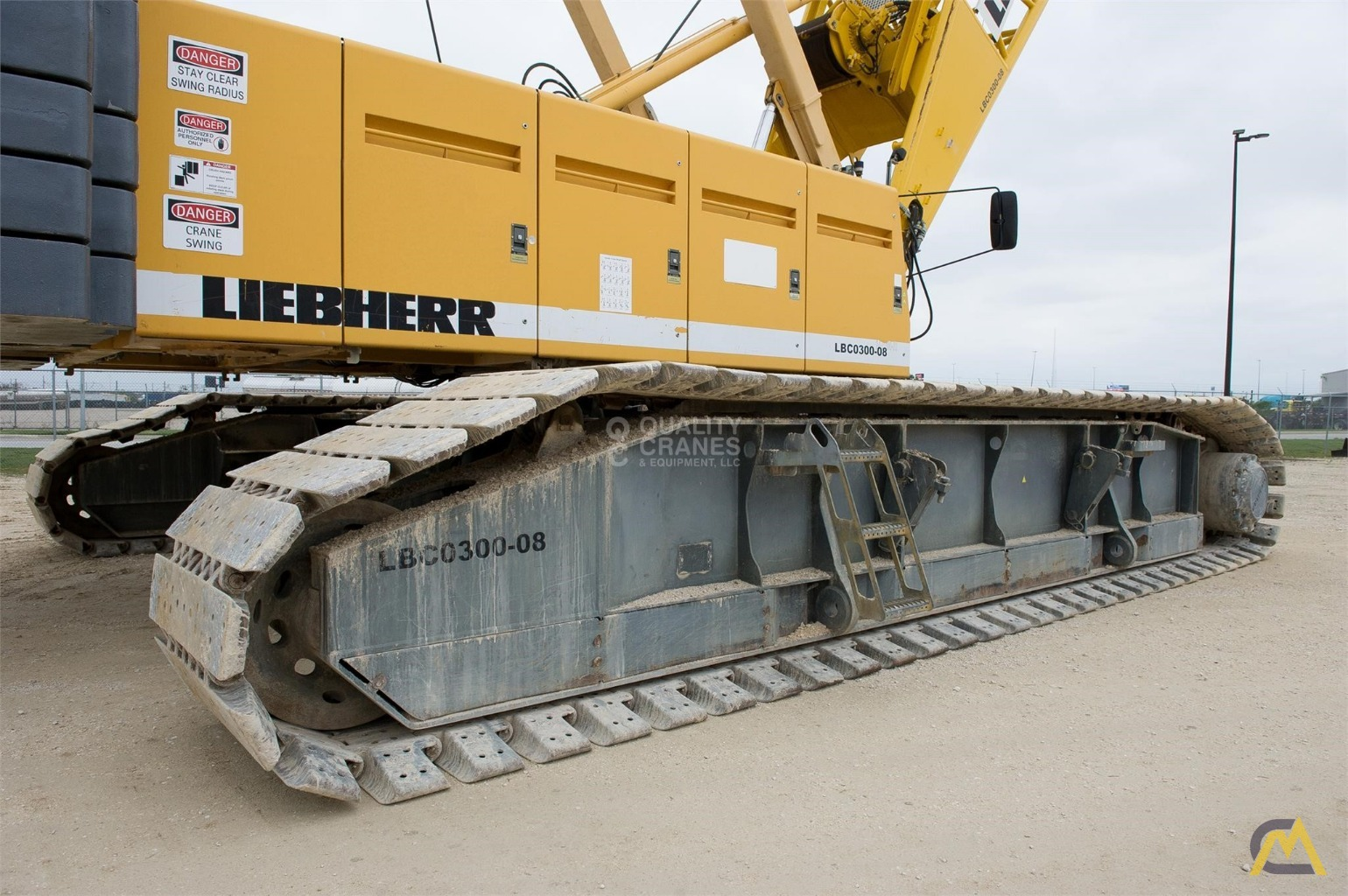Liebherr LR 1280 300-Ton Lattice Boom Crawler Crane 15